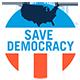 Save Democracy Logo
